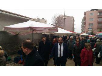 Chp Milletvekili Bülent Öz Lapseki'de
