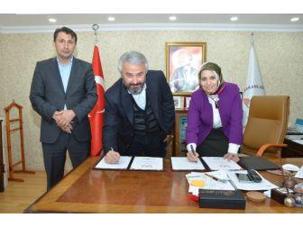 Okul Sanayi İş Birliği Protokolü İmzalandı