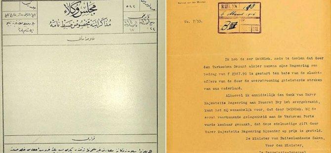 Osmanlı Hollanda'ya Para Yardımı Yapmış