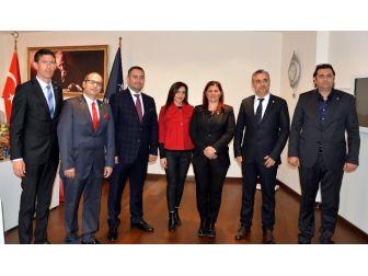 Sögiad, Başkan Çerçioğlu'nu Ziyaret Etti