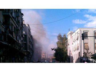Şam'da Adalet Sarayına İntihar Saldırısı