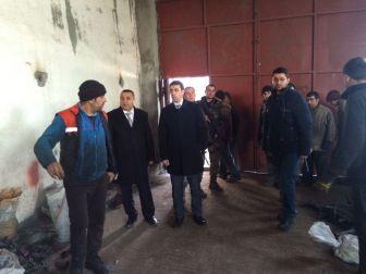 Kaymakam Kırlı'dan Organize Sanayi Bölgesine Ziyaret