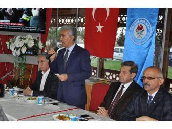 Başkan Halil Aktay: Türkiye Demokratik Bir Dönüşüm Yaşıyor