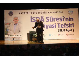 Gazeteci-yazar Mehmet Ali Bulut: