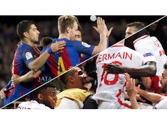 Şampiyonlar Ligi'ne Barcelona Ve Monaco Damgasını Vurdu