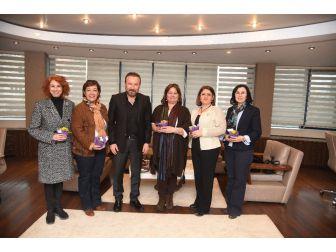 Başkan Doğan, İzmit Soroptimist Kulübü Başkanı Ve Yönetimini Ağırladı