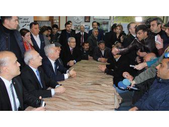Kılıçdaroğlu Kahvehanede Vatandaşlarla Buluştu