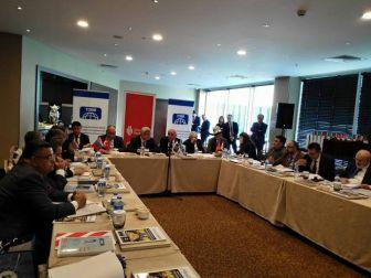 Başkan Yağcı Türk Dünyası Belediyeler Birliği Toplantısına Katıldı
