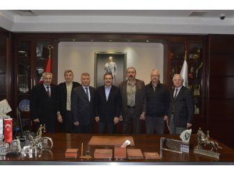 Başkan Ataç'a Ziyaretler Devam Ediyor