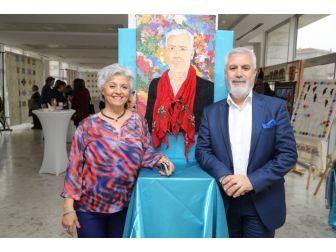 Nilsem Kursiyerlerinden 'Kırk Yama' Sergisi