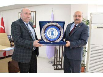 Esob Başkanı Konak, Ab Proje Ortağı Karanfil'i Ağırladı