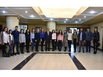 Nazilli Ticaret Odası Proje Ekibi Başkan Alıcık'ı Ziyaret Etti