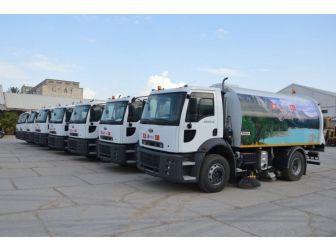 Tunus İskan Bakanlığı, Türkiye'den Gelen Hibe Araçları Teslim Aldı