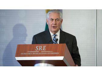 Abd Dışişleri Bakanı Tillerson Türkiye'ye Gelecek