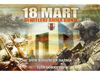 Genelkurmay Başkanlığı 18 Mart Şehitler Günü'ne Özel Afiş Hazırladı