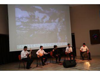 Çanakkale Şehitleri Akdeniz Üniversitesi'nde Anıldı