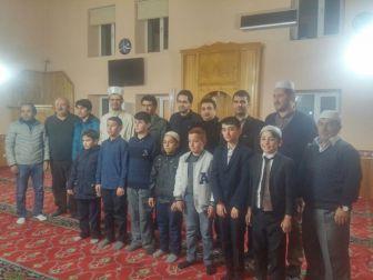 Günyüzü'nde Mehmet Akif Ersoy İçin Mevlit Okutuldu