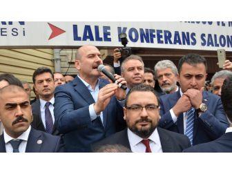 İçişleri Bakanı Soylu Sincan'da Vatandaşlarla Bir Araya Geldi