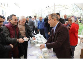 Başkan Çelikcan Kırık Buğday Çorbası Dağıttı