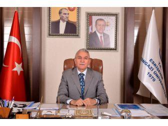 Rektör Gönen'in 18 Mart Şehitleri Anma Günü Ve Çanakkale Zaferinin Yıl Dönümü Mesajı