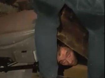 Aracın Gizli Bölmesinde Gürcistan'a Kaçarken Yakalandı