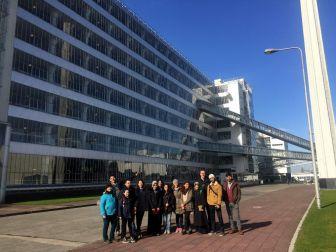 Agü'nün Genç Mimar Adaylarından Hollanda'ya Teknik Gezi