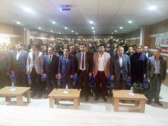 Gaün Rektörü Ali Gür, Halfeti'de Cumhurbaşkanlığı Sistemini Anlattı