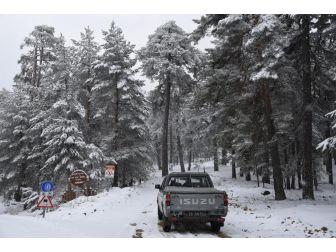 Eskişehir'de Kar Sürprizi