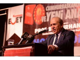 """Ak Parti Mkyk Üyesi Ve İstanbul Milletvekili Burhan Kuzu: """"Cumhurbaşkanın Partili Olması Kadar Doğal Bir Şey Yok"""""""