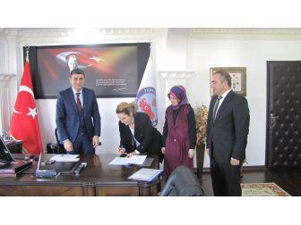Kardeş Okul Projesi İmzalandı