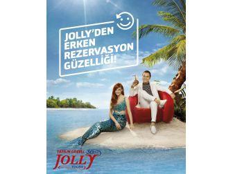 Serdar Ortaç Jolly Tur'un Reklam Filminde Oynadı