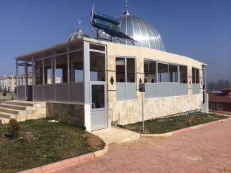İlimtepe Camii'nin Şadırvanı Tamamlandı