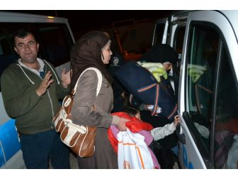 3'ü Çocuk 28 Göçmen Kktc Yolunda Denizde Yakalandı