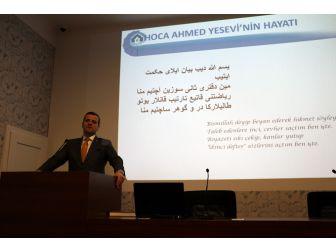 Hoca Ahmet Yesevi Viyana'da Anıldı
