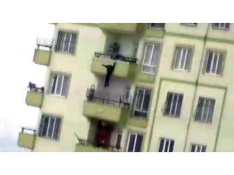 Gaziantep'te 16 Yaşındaki Kızın İntiharı Kamerada