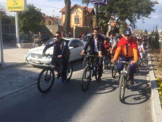 Milas'ta Şehitler Anısına Pedal Çevirdiler