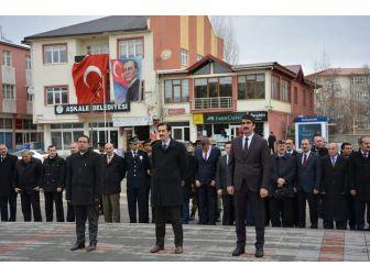Aşkale'de Çanakkale Zaferi Unutulmadı