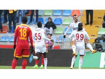 Gol Düellosunda Kazanan Gaziantepspor