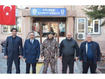 Emniyet Müdürü Metil Alper'den Gölbaşı İlçesine Ziyaret