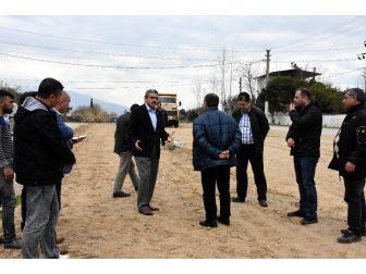 Nazilli Belediyesi Yol Hamlelerine Devam Ediyor