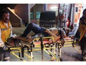 Eskişehir'de 4. Kattan Düşen Genç Ağır Yaralandı