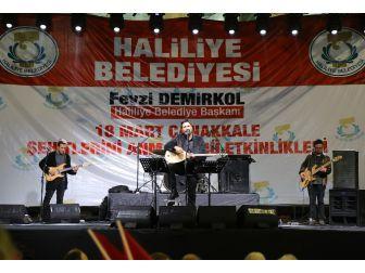 Haliliye'de 18 Mart Çanakkale Şehitlerini Anma Etkinlikleri