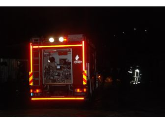 Arnavutköy'de Yangın : 1 Ölü 1 Yaralı