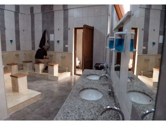 Yunuseli Merkez Camii Yeni Şadırvana Kavuştu