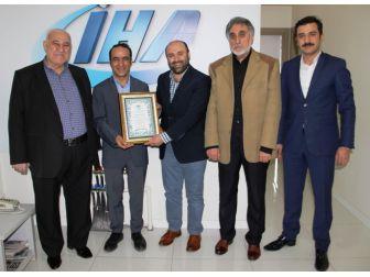Diyarbekir Kültür Platformu'ndan İha'ya Ziyaret