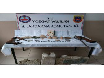 Yozgat'ta 42 Parça Tarihi Eser Ele Geçirildi
