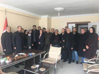 Ak Parti Ardahan İl Teşkilatı, Mhp Ardahan İl Başkanını Ziyaret Etti