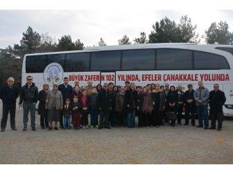 Efeler Belediyesinin Çanakkale Gezileri Sona Erdi