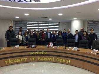 Bozüyük Tso Üyelerine Kalite Yönetim Sistemi Temel Eğitimi