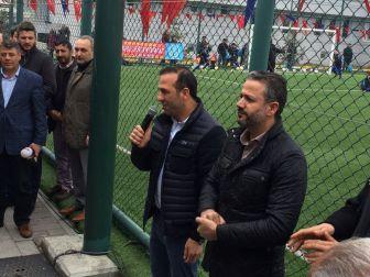 Malatya İlçeleri Futbol Turnuvasında Birlik Beraberlik Vurgusu